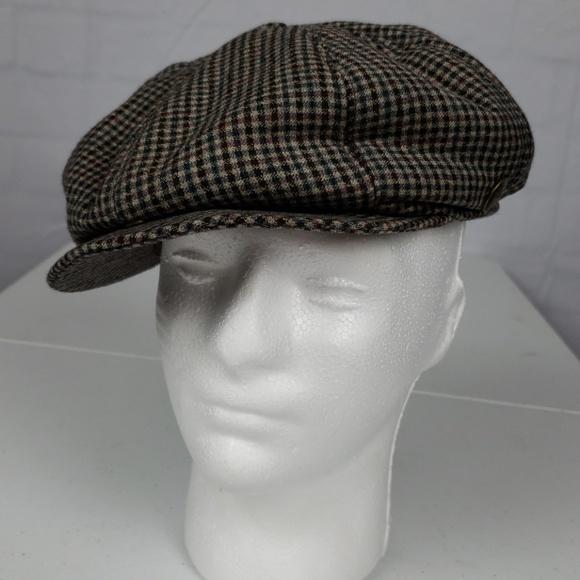 affa8b343a Men's Vintage Goorin Brothers Newsboy Tweed Cap